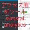 【wordpress】アクセス解析ツール slimstat analytics